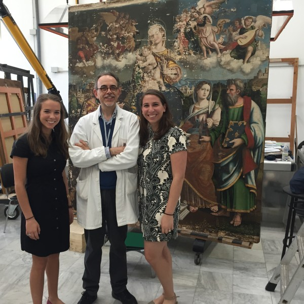 Visiting the Vatican Museums and Restoration Labs
