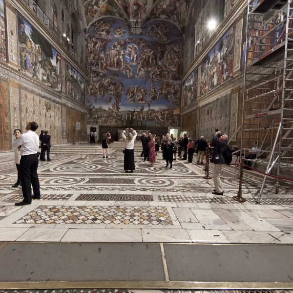 Illinois Patrons trip to Rome 2012