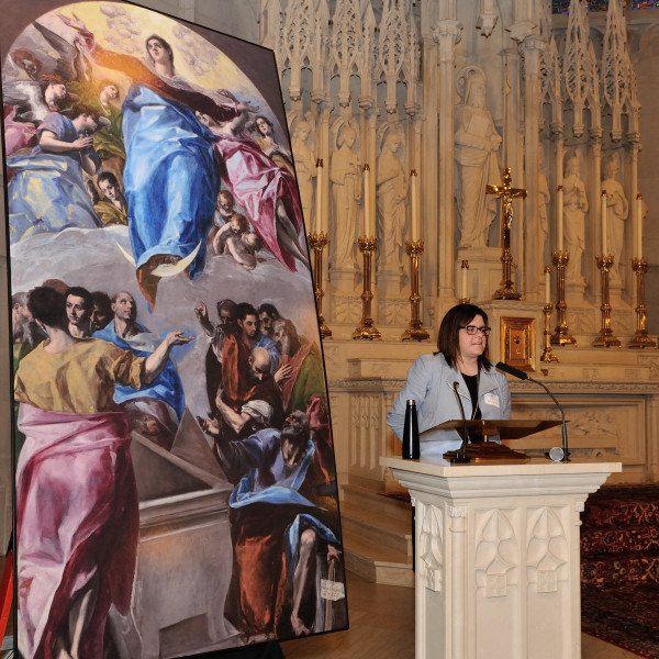 5th Annual Art & Faith Lecture Series: The Art of Conservation: Restoring El Greco's The Assumption of the Virgin